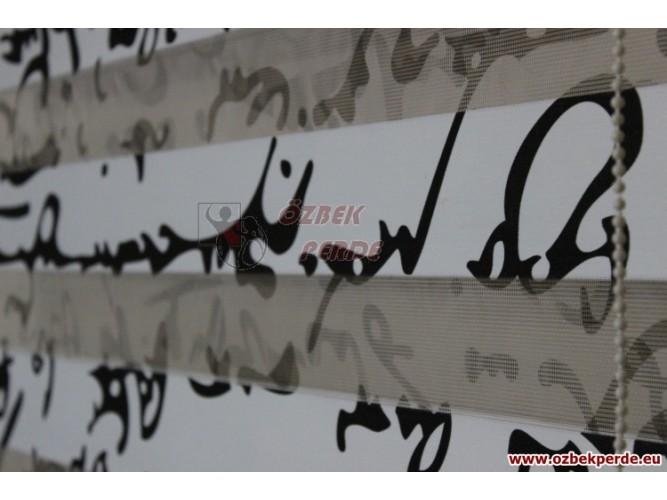 Yazıt Zebra Perde  85x200